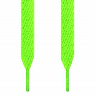 Skosnören - 12mm neongröna