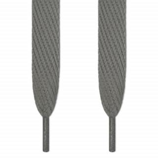 Snørebånd - 16mm Mørkegrå