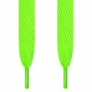 Skosnören - 16mm neongröna
