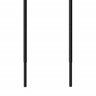 Skosnören – 3mm Svart