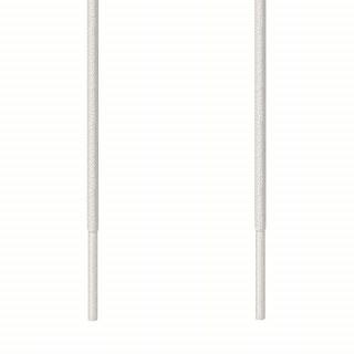 Skosnören - 3mm Vit