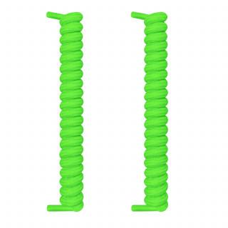 Neongröna spiralskosnören