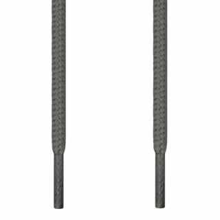 Skosnören - 4mm Mörkgrå