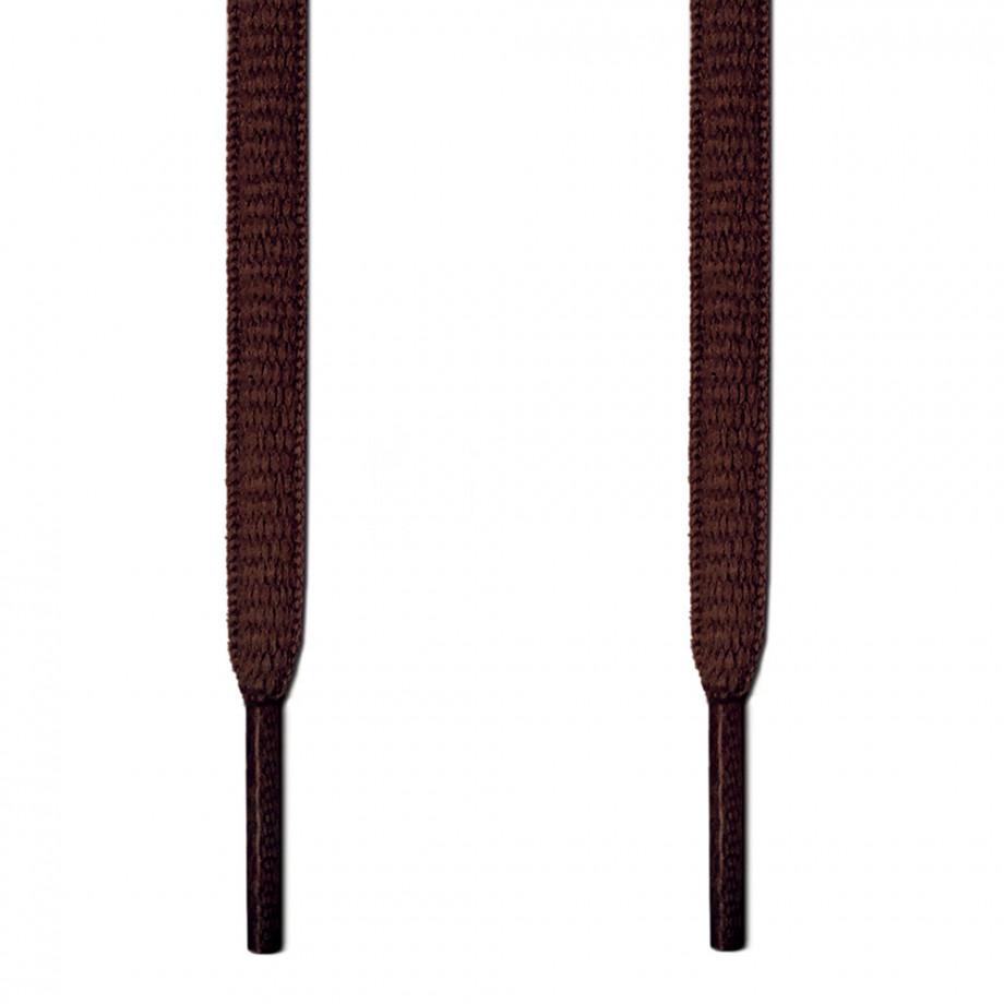 Ovala Mörkbruna Skosnören ← Gjorda för sportskor