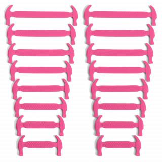 Chockrosa elastiska silkonskosnören (No-tie)