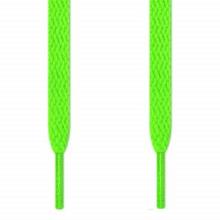 Skosnören - 8mm Neongröna