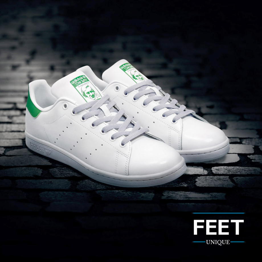 Platta Ljusgrå Skosnören ← Högkvalitativa snören till dina skor