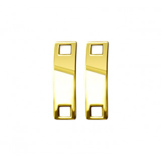 Gold sneaker-jewelry