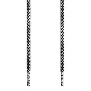 Adidas Yeezy - Skosnören Svarta och Silver