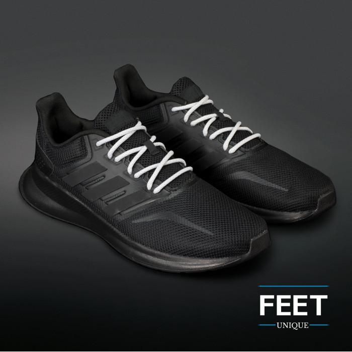 Adidas Yeezy - Skosnören Ljusgråa och Vita