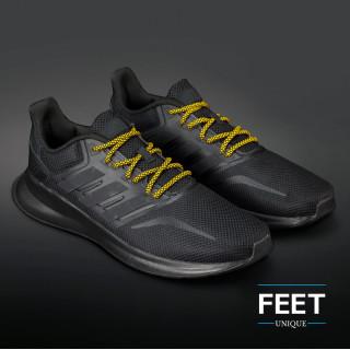 Adidas Yeezy - Skosnören Svarta och Gula